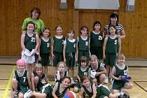 Družstvo nejmladších minižaček Panterky SK Sigma Hranice se zúčastnilo svých úplně prvních zápasů ve své hráčské kariéře.