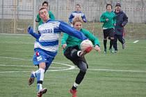 Mladší dorostenci 1. FC Přerov si v posledním přípravném utkání smlsli na vrstevnících z Hranic v poměru 7:0.