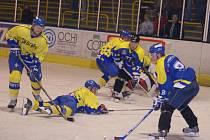 V utkání, které trvalo jen dvacet minut, měli navrch přerovští hokejisté, kteří zásluhou Ditricha a Koláře otočili průběh první třetiny.