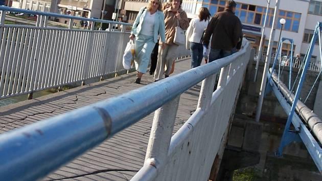 Tyršův most v Přerově.