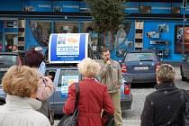 Předvolební mítink na přerovském náměstí T.G.M.