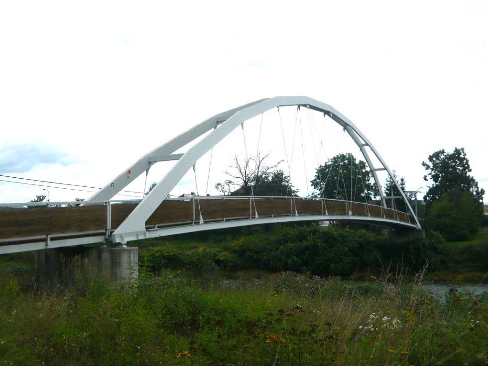 Pohled na most na Rybářích.