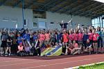 Atleti se i v Hranicích sešli v rámci akce Spolu na startu.