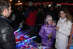 Rozsvěcení vánočního stromu na hranickém Masarykově náměstí
