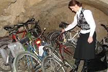 Nejvíce místa zabírají v úschovních prostorách ztrát a nálezů v Prostějově bicykly.