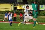 Divizní derby mezi SK Hranice a TJ Sokol Ústí (v bílém)