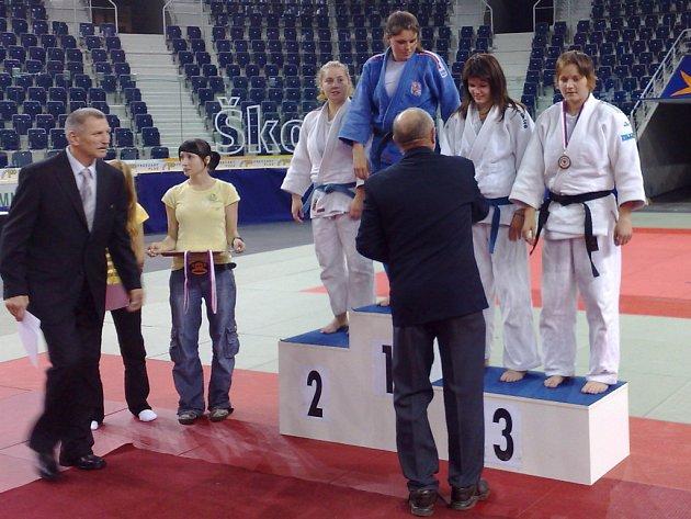 Veronika Vaňková skončila v Liberci třetí.