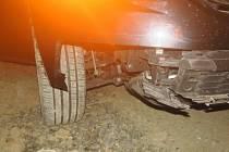 Nehoda škodovky mezi Bělotínem a obcí Polom