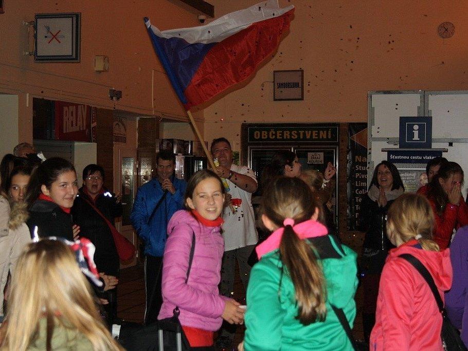 Mažoretky Panenky přivezly titul z Mistrovství Evropy v Anglii.