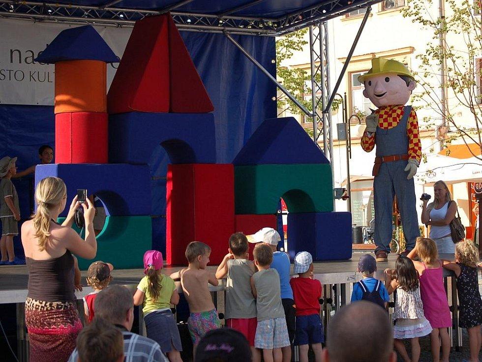 V krátkém pásmu pro děti se představila oblíbená pohádková postava Bořka Stavitele a jeho přátelé.