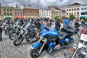 Hranická motomše pořádaná klubem Harley Owners Group