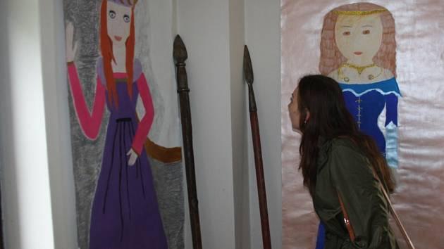 Komentovaná prohlídka nabídla návštěvníkům pohled na dobu Karla IV.