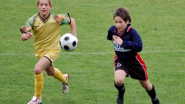 Béčko mladších žáků 1. FC Přerov podlehlo Prostějovu.