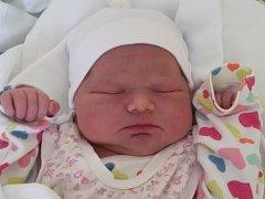 Martinka Jakubková, Hranice, narozena dne 13. května 2015 v Olomouci, míra: 53 cm, váha: 4370 g