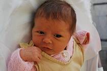 Eliška Ševčíková, Hranice, narozena 14. prosince 2009 v Přerově, míra 47 cm, váha 2 760 g
