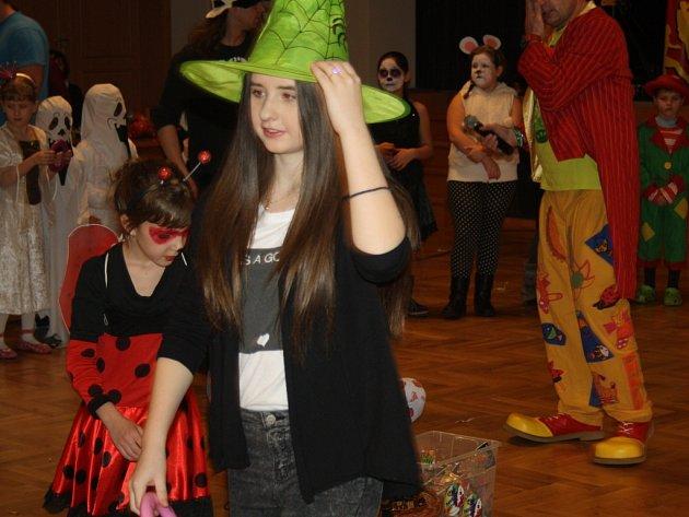 Maškarní karneval pro děti v Lipníku nad Bečvou.