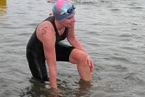 Na zimní plavání nedá Lenka Svobodová dopustit.