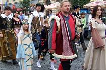 Součástí Přerovských hodů je i průvod v dobových kostýmech.