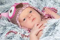 Zuzanka Valentová, Přerov,  narozena dne 17. července 2014 v Přerově, míra: 51 cm, váha: 3462 g