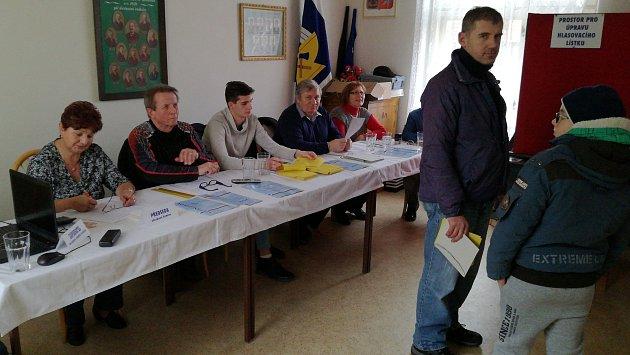 Druhé kolo prezidentských voleb v Hranicích
