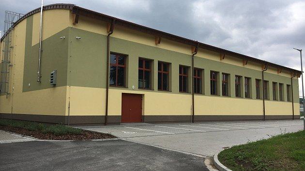 Nová víceúčelová hala v Hustopečích nad Bečvou
