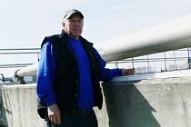 Vladimír Lux - pracovník na čističce odpadních vod v Hranicích