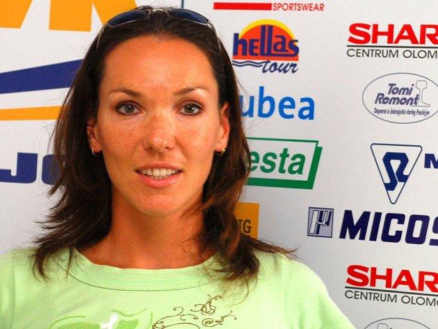 Eva Ryšavá patří mezi nejlepší české volejbalistky.