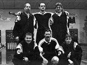 Utkání Spartak Přerov - ČSSR v rámci oslav 40 let kuželkářského sportu v okrese Přerov v roce 1981.