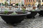 Zrekonstruované Masarykovo náměstí v Hranicích