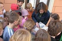 Průvodcovské služby využívají v Hranicích nejen turisté, ale také školáci základních a studenti středních škol.