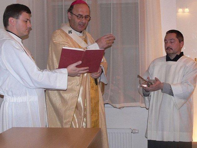 V kapli svaté Zdislavi proběhlo žehnání.