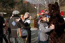Vodění medvěda v Radíkově