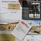 č.11. Autor: Daniela Kartáková. Návrh památníku TGM v Hranicích