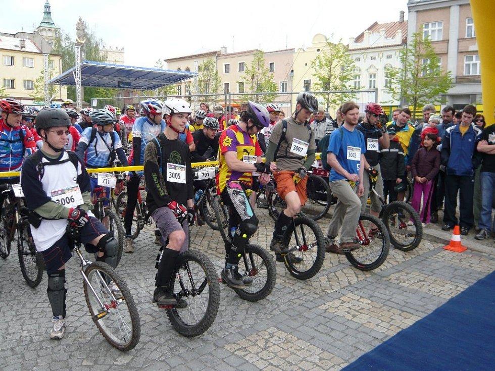 Cyklistický Author Šela maraton na Lipnicku.