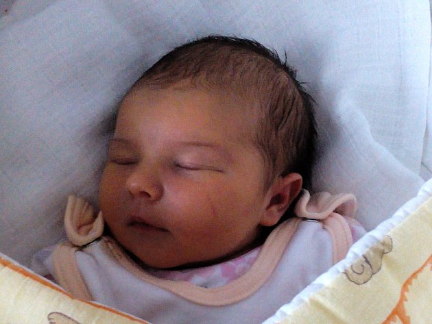 Tereza Duroňová, Bystřice pod Hostýnem, narozena dne 30. září 2015 v Přerově, míra: 48 cm, váha: 3232 g