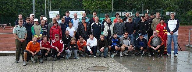 Účastnici turnaje.