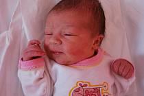 Klára Velechová, Přerov, narozen 30. března 2011 v Přerově, míra 49 cm, váha 3 350 g