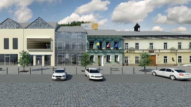 NÁMĚSTÍ. Představený projekt chce výrazně oživit náměstí T. G. Masaryka a přivést sem obchůdky a kavárny.