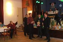 Na plese byli oceněni nejlepší fotbalisté místního oddílu kopané TJ Sokol Bělotín za minulý rok