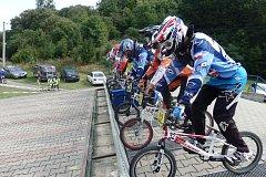 BMX Inter Cup v Hranicích v roce 2017