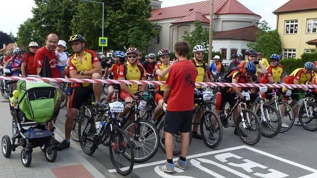 Start Moravské brány v Černotíně