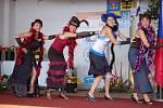 Spolky v Tučíně se během slavnostního ceremoniálu při vyhlašování Vesnice roku pochlubily tím, co umí. Nejprve zatančily zdejší děti country tance, potom se strhla na podiu bitka jako na Divokém západě.