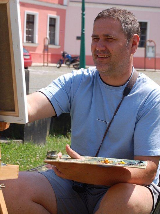 Výtvarné léto ovládlo zákoutí Přerova.
