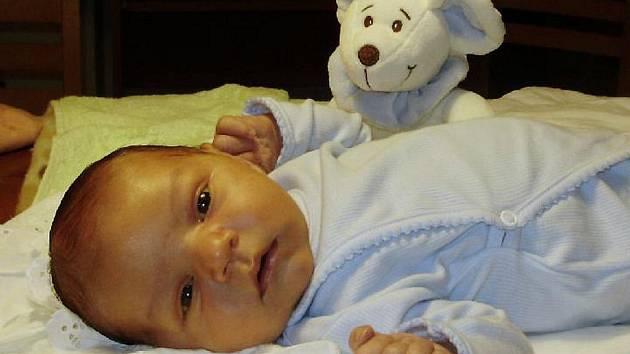Waldemar Sahaj, Přerov, narozen 11. září v Přerově, míra 54 cm, váha 4 260 g