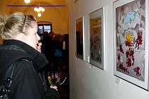 Výstava s názvem Trojice v Galerii severní křídlo zámku v Hranicích