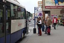 Během letních prázdnin budou jezdit autobusy do Předmostí bez omezení.