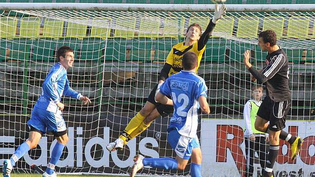 HFK Olomouc versus Zábřeh (modré dresy)