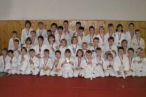 Judo klub Femax Hranice obsadil v hodnocení klubů ČR z mistrovských soutěží 14. příčku.