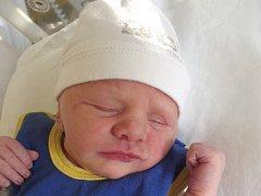 Matyas Kantor, Přerov, narozen dne 16, března 2015 v Přerově, míra: 46 cm, váha: 2600 g