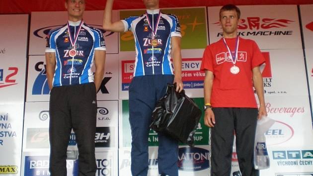 Klakurka vyhrál a Klíma skončil v Hradci Králové v kategorii age group 20–29 let druhý.